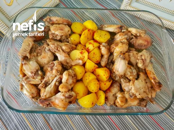 Şipşak Tavuk Patates(Çok Kolay)