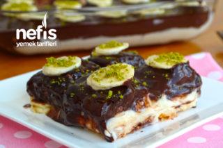 En Kolayından Muzlu Milföy Pasta (Videolu) Tarifi