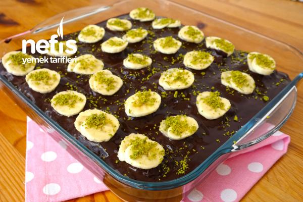 En Kolayından Muzlu Milföy Pasta