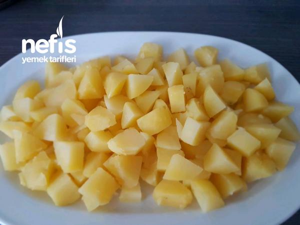 Haslama Patates Yoğurtlaması Mükemmel Lezzet