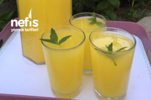 1 Portakal 2 Limon İle Limonata Tarifi