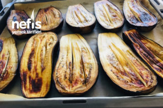 Buzluk İçin Fırında Kızaran Karnıyarıklık Patlıcan Tarifi
