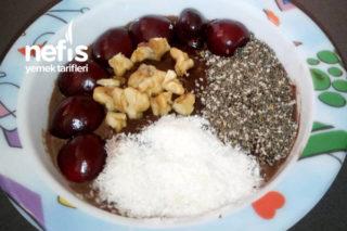 Diyet Kahvaltılık ( Yulaf Tatlısı ) Tarifi