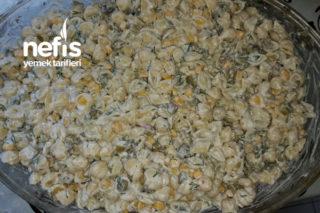 Makarna Salatası (Resimli) Tarifi