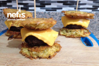 Patates Burger Tarifi