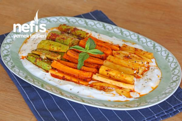 Yoğurtlu Sebze Kebabı