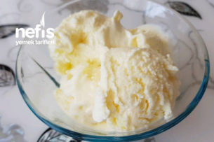 3 Malzemeli Vanilyalı Dondurma Tarifi