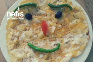 Kahvaltıya Patatesli Omlet (Harika Lezzet) Tarifi