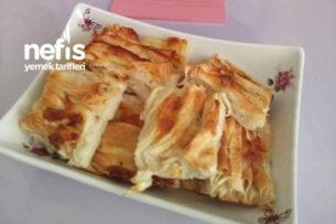 Kaşar Peynirli Pileli Börek Tarifi