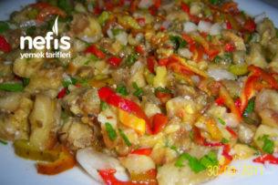 Közlenmiş Patlıcan Yemeği Tarifi