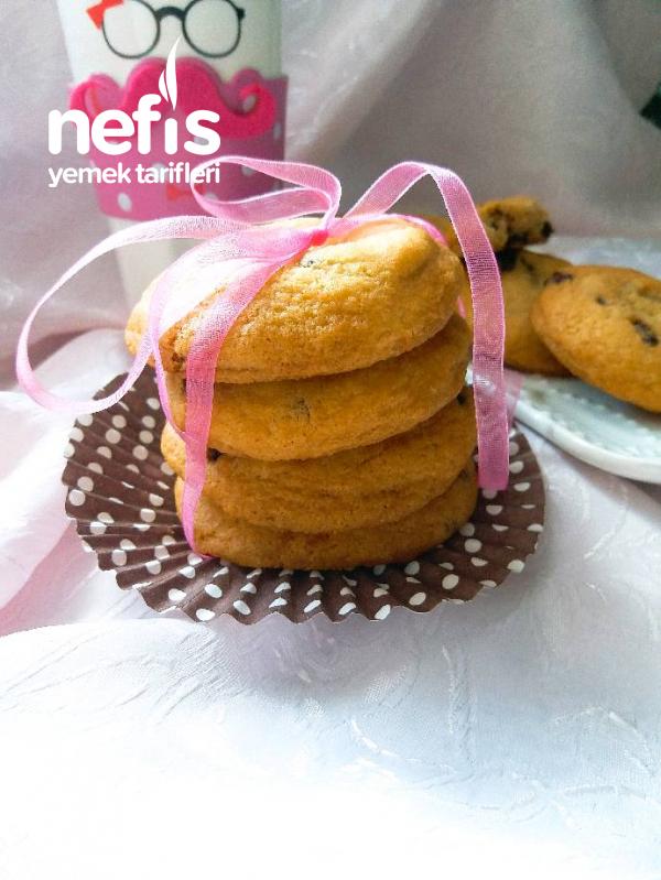 Amerikan Kurabiyesi (Chocolate Chip Cookies)