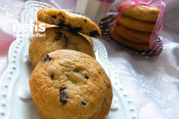 Amerikan Kurabiyesi (Chocolate Chip Cookies) Tarifi