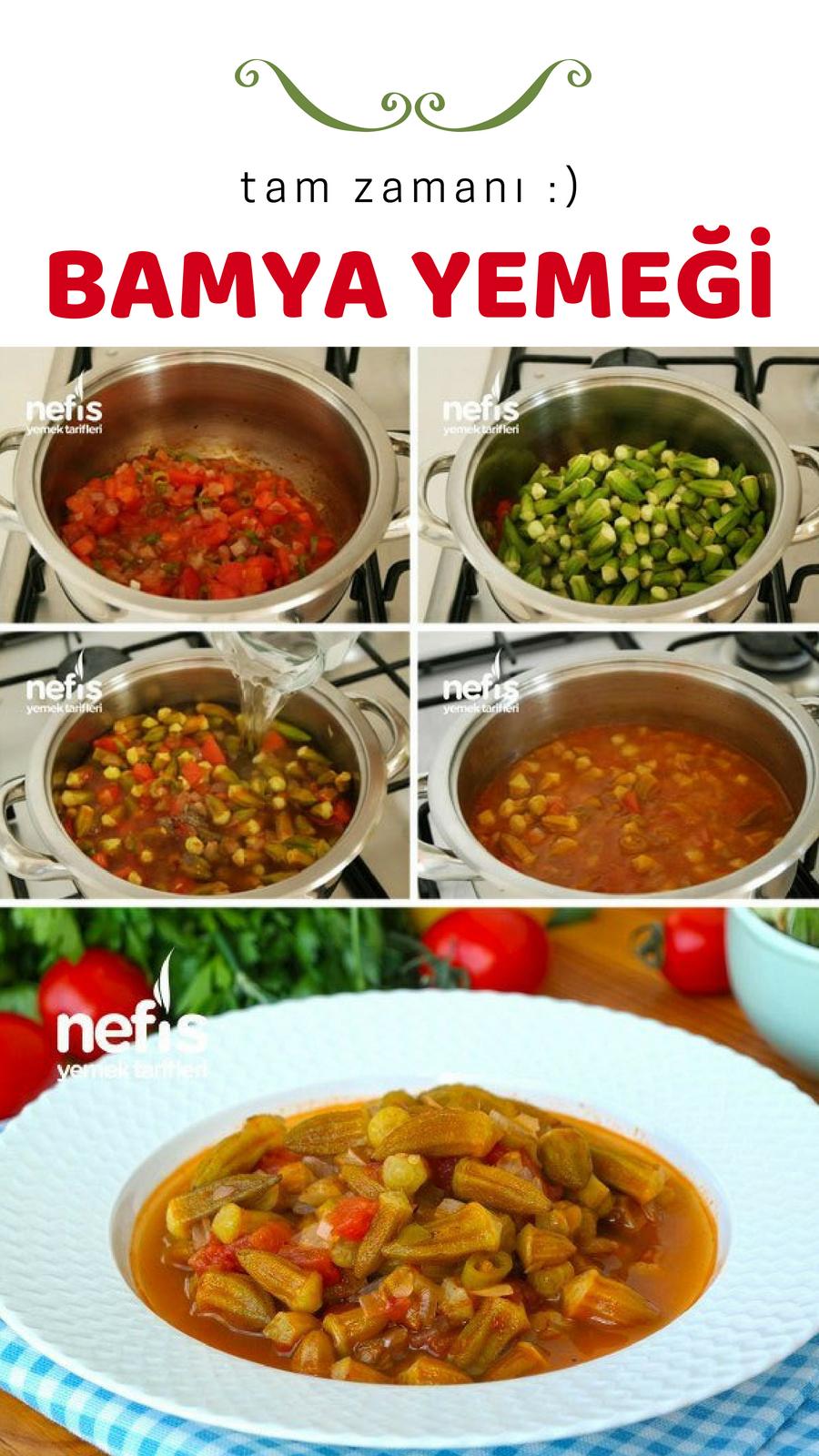 Zeytinyağlı Bamya Yemeği Videosu