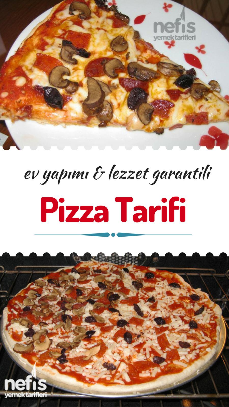Evde Pizza Nasıl Yapılır Müthiş Tarif