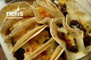 Lavaş Tacos Tarifi