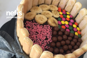 Dolu Dolu Çikolatalı Muzlu Pasta (Bim Malzemeleri İle) Tarifi