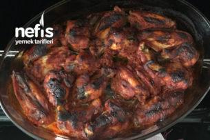 Fırında Sütlü Marine Tavuk (Mangal Tadında) Tarifi