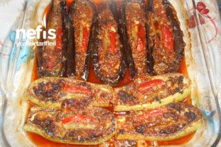 Kıymalı Fırında Kabak Ve Patlıcan Sandal Tarifi