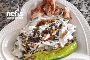 Yoğurtlu Tavuklu Semizotu Salatası Tarifi