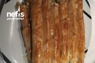 Fırında Çıtır Çıtır Rulo Börek Tarifi