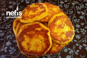 Bilgece Kahvaltılık Mısır Unlu Mercimekli Pankek Nasıl Yapılır?