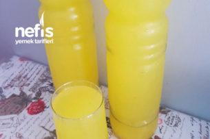 Buzluktan Portakallı Limonata Tarifi
