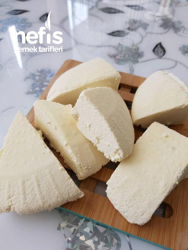 Evde Beyaz Peynir Ve Lor Peynir Yapimi