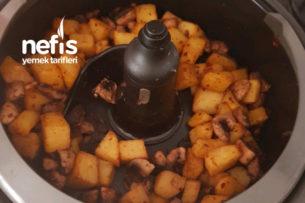 Mantarlı Patates (Actifry) Tarifi