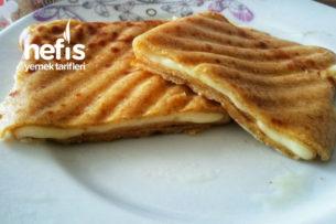 Sağlıklı Krep Tost (Tam Buğday Unuyla) Tarifi