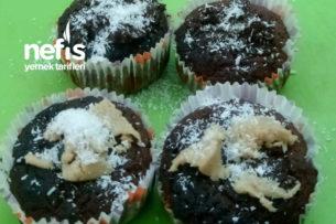 Yağsız Unsuz Şekersiz Muffin Tarifi
