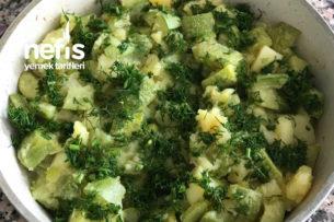 Zeytinyağlı Patatesli Kabak Yemeği Tarifi