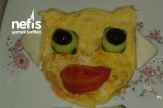 Eğlenceli Kahvaltı Tabağı Tarifi