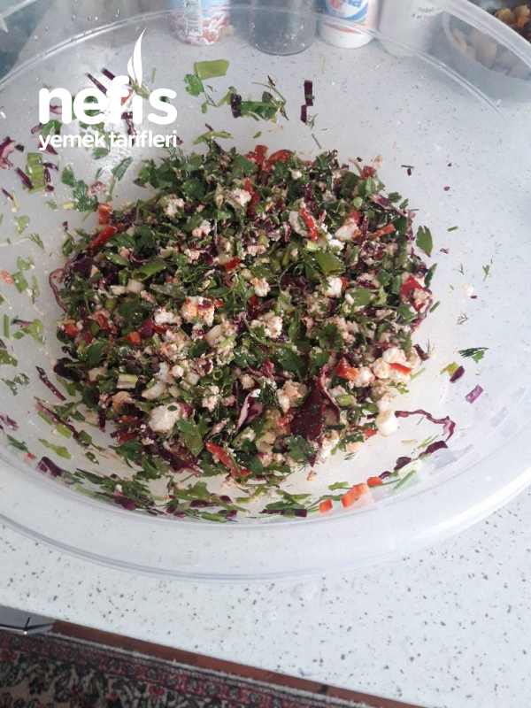 Has Erişte Salatası