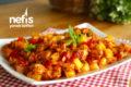 Kolay Fırın Yemeği Tavuklu Sebze Kebabı Tarifi