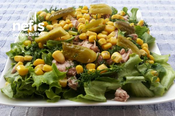 Light Tonbalıklı Salata Tarifi