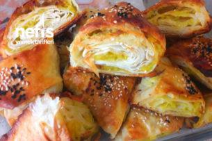 Kabaklı Patatesli Üçgen Çıtır Börek Tarifi