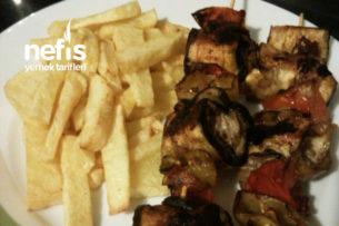 Patlıcan Kebabı Çöp Şişde Tarifi