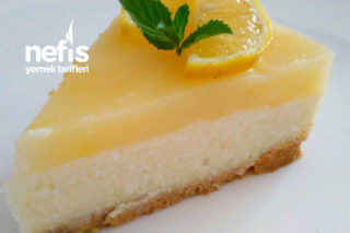 Cheesecake'e Alternatif Limonlu Pasta Tarifi