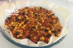 Fırında Kolay Sebze Kebabı Tarifi