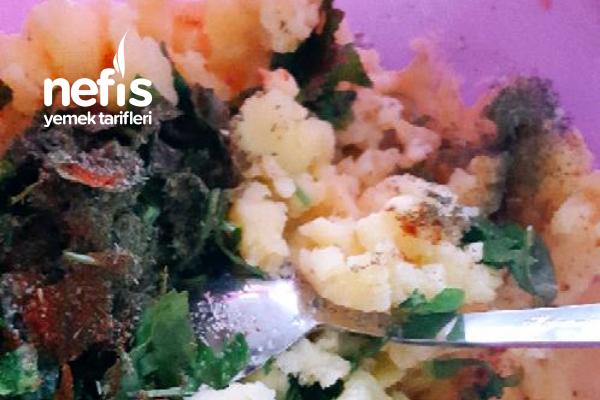Yoğurtlu Soslu Patates Salatası