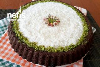 15 Dakikada Tart Kalıbında Islak Kek Tarifi