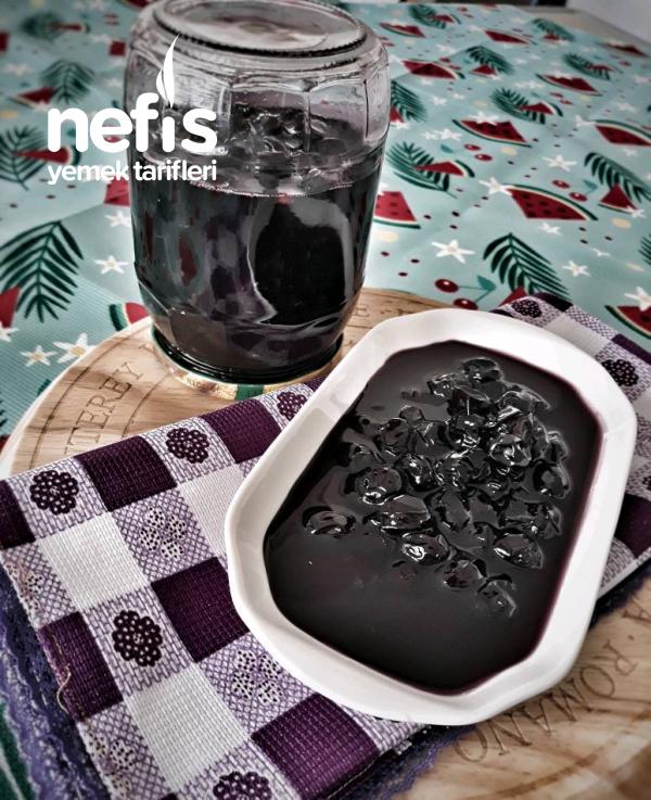 Vişne Görünümlü Siyah Üzüm Reçeli (biraz Da Farkli Recel Olsun )