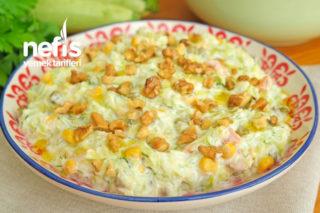 Yedikçe Yedirten Kabak Salatası (videolu) Tarifi