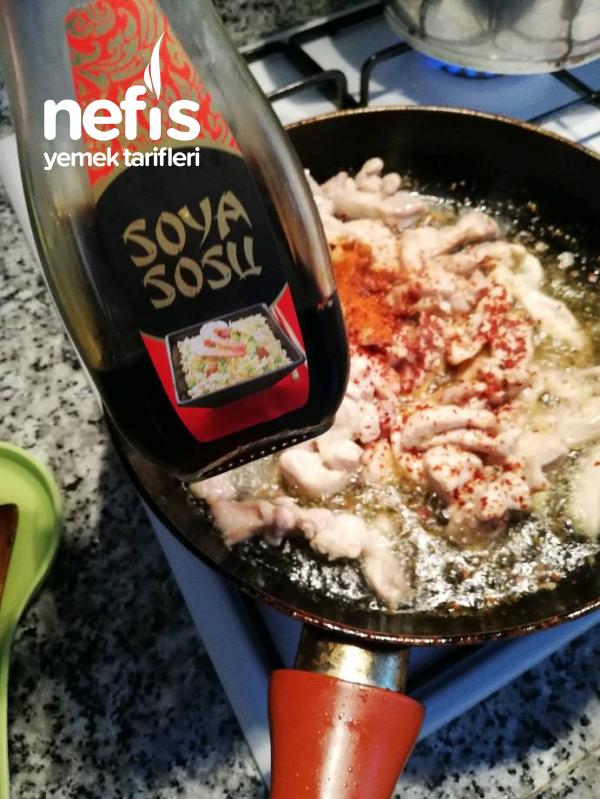 Tavuk Dünyası Menüsü soya Soslu Tavuk- Pesto Soslu Makarna