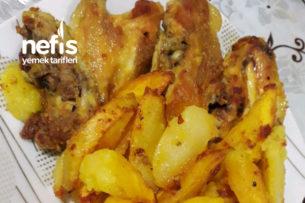 Tavuk Kızartması (Patates Eşliğinde) Tarifi