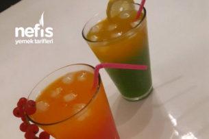 Buz Gibi Serinleten Ev Yapımı Cocktail Tarifi
