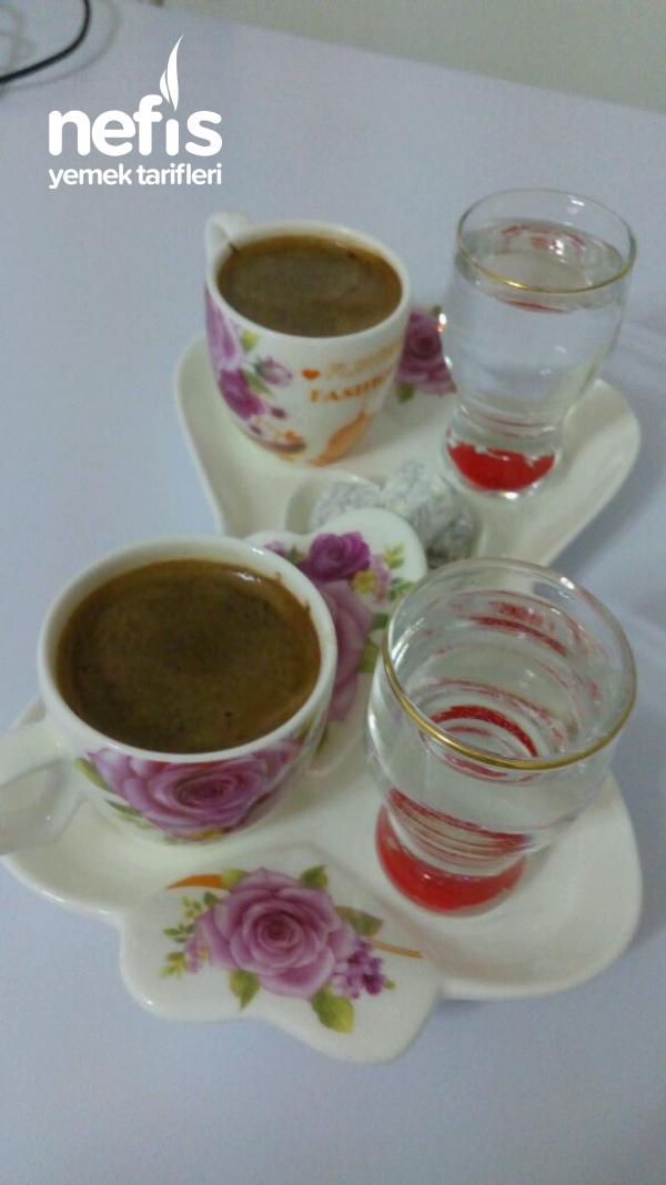 Lezzetli Osmanli_turk Kahvenin Karisimi