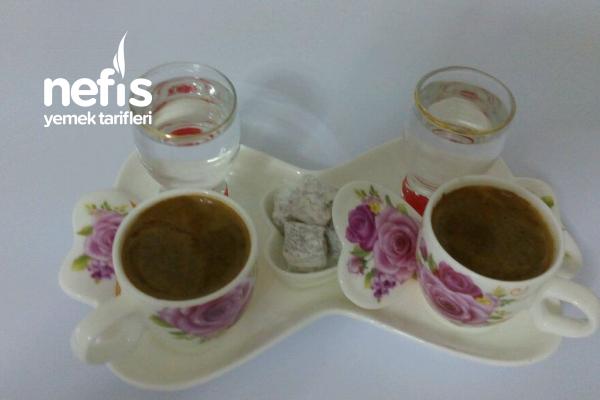 Lezzetli Osmanlı Türk Kahvenin Karışımı