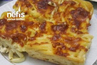 Peynirli Fırın Makarna Tarifi