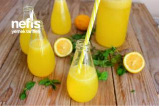 Portakalı Limonata (Hiç Kabuk Acısı Yok) Tarifi